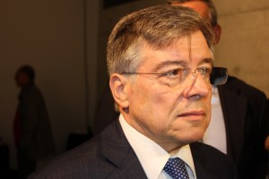 Il Ministro Flavio Zanonato (foto di Evgeny Utkin)