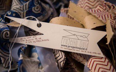 Moda etica creata da donne rifugiate con tessuti riciclati