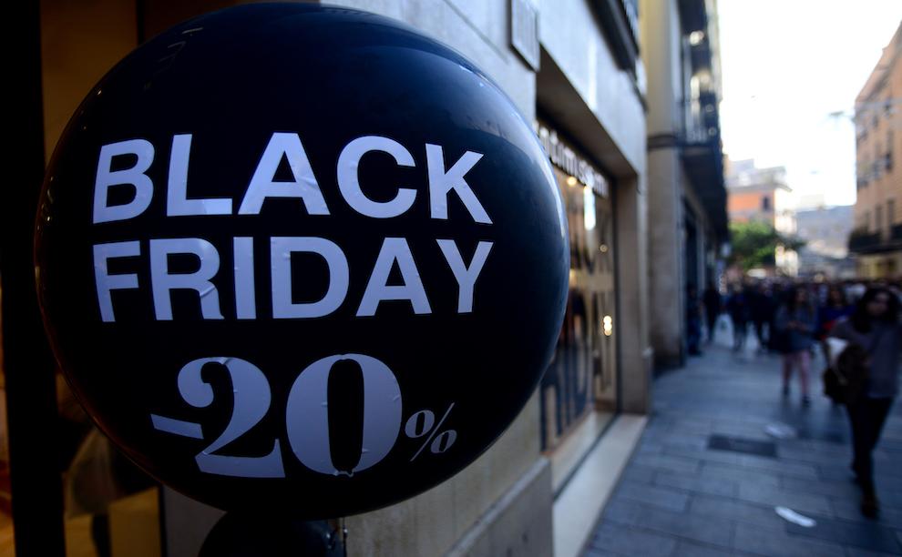 Black Friday, il venerdì nero per impatto ambientale